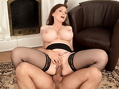 Big Tits, A Deep Throat And A Pierced Pussy